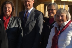 Judy Felts, Gov. Bill Lee, Lydia Miller, Nel Bergman